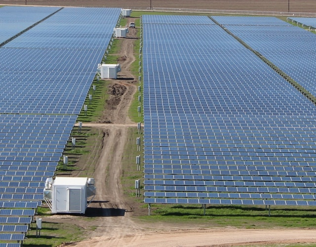 solar farm foundations